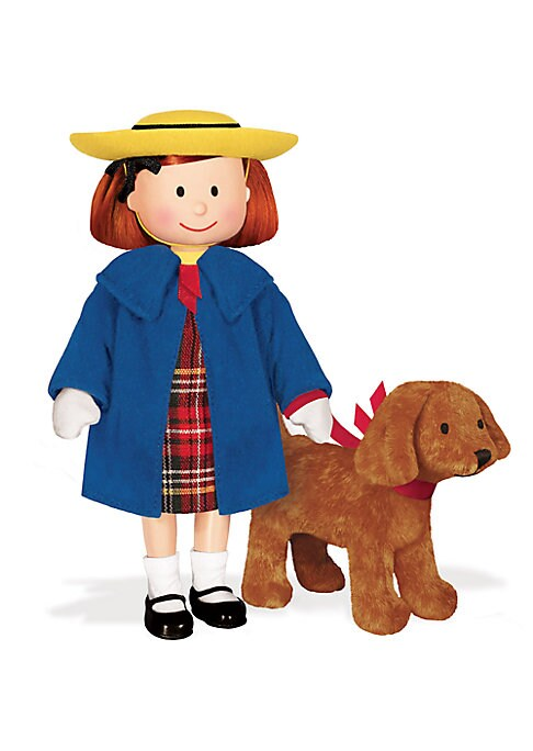 Madeline 8 Poseable Doll and Genevieve 4 Soft Toy