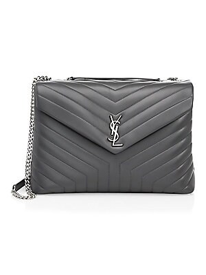 01e0761a1111 Large College Matelasse Leather Satchel.  2590.00 · Saint Laurent - Large  Lou Lou Chain Strap Shoulder Bag