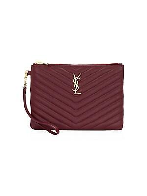 Saint Laurent - Medium Lou Lou Chevron Quilted Leather Crossbody Bag ... 3f10eadcc5