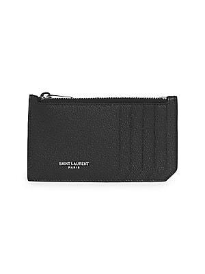1a262bc3d61 Saint Laurent - Medium Monogram Mattelasse Leather Chain Wallet ...