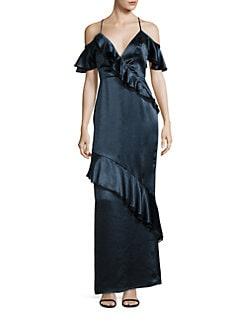 Abs lace dress saks