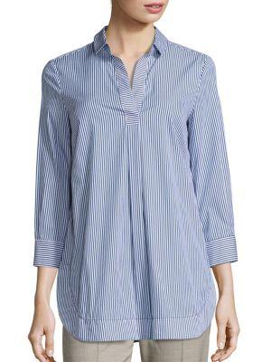 Cotton Pullover Tunic by Piazza Sempione