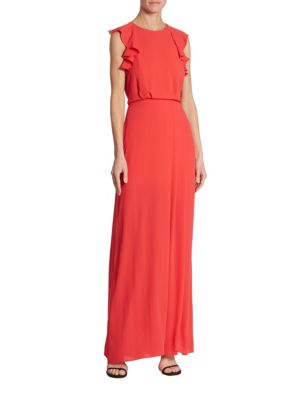 Angelika Ruffled Gown