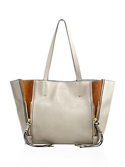 be7b565562 QUICK VIEW. Chloé. Milo Leather   Suede Tote