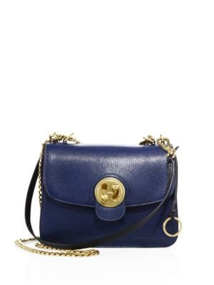 CHLOÉ Leathers Medium Milly Leather Chain Shoulder Bag