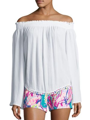 Nita Off-The-Shoulder Top by Lilly Pulitzer