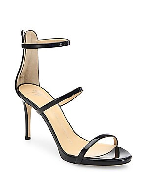 928ea4136297 Stuart Weitzman - Nudistsong Patent Leather Sandals - saks.com