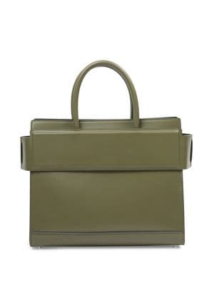 Horizon Small Smooth Leather Satchel by Givenchy
