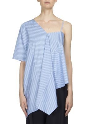 Asymmetric One Shoulder Tunic by Maison Margiela