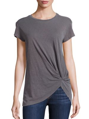 Knot Front Tee by Stateside