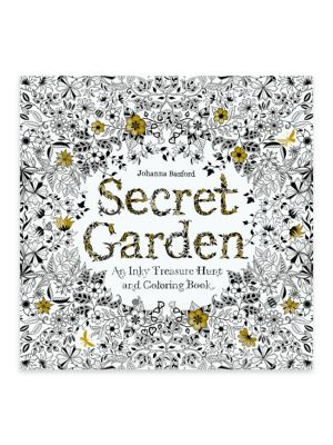 "Image of Containing delicate and highly detailed pen-and-ink illustrations, this book is an excellent choice for your kids. It is designed with hidden tiny garden creatures for added attraction. .Author: Johanaa Basford.0.5"" x 10"" x 10"".Paper. Spot clean."