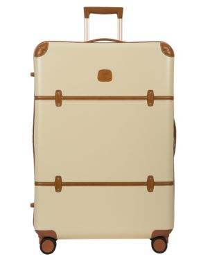 Bellagio 2.0 32-Inch Rolling Spinner Suitcase - Brown, Cream