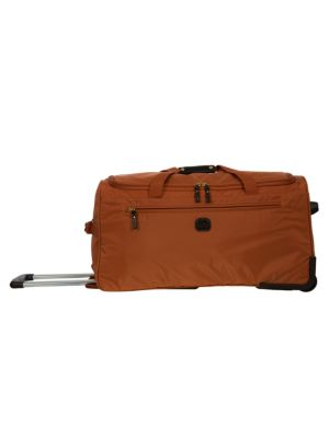 Bric S 28 Inch Rolling Duffel Bag In Orange