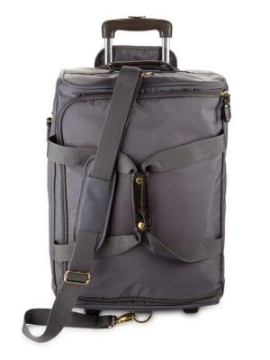 Bric S 21-Inch Rolling Duffel Bag In Steele  e2bf329e9ddc4