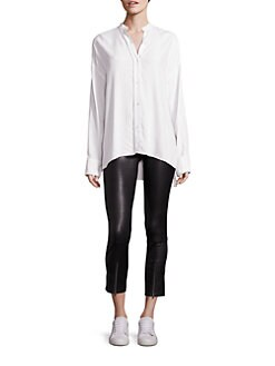 Image result for helmut lang white button down saks