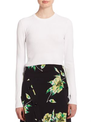 Cropped Knit Top by Proenza Schouler