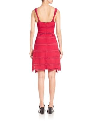 PROENZA SCHOULER Silks Pinstripe Cami Dress