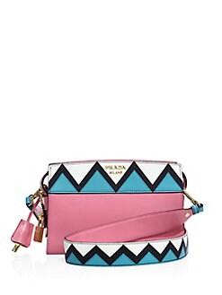 9cab827eaf6d60 Prada Esplanade Leather Crossbody Bag from Saks Fifth Avenue - Styhunt