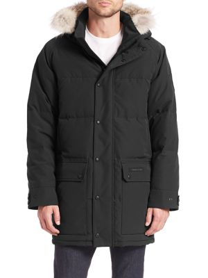 Emory Quilted Parka Jacket Black Label by Canada Goose