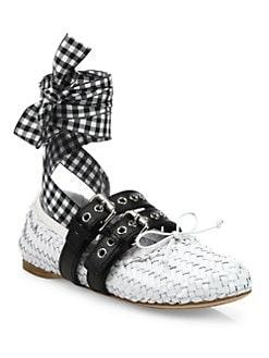 Miu Miu Ballerina sneakers ZYzaa1KHg