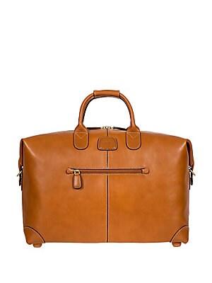 Bric's Tuscan Life Bag 18 Duffle Pelle 4AjL5R