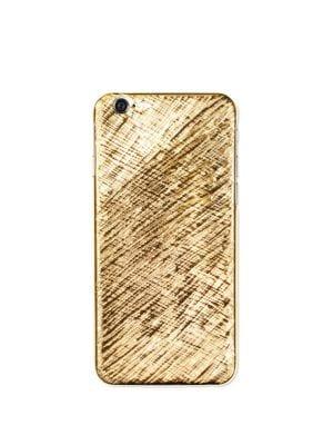 LA MELA Fuego Textured Iphone 6 & 6S Case in Gold