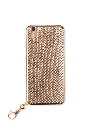 LA MELA Cobra Iphone Case in Pink Gold
