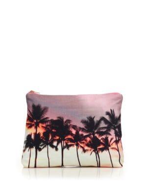 Samudra Surf Jaipur Wailea Cotton Canvas Pouch