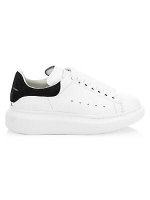 Alexander McQueen Suede & Leather Platform Sneakers