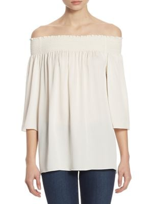 Elistaire Off-the-Shoulder Top by Theory