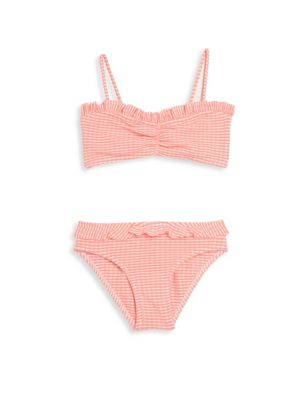 Toddlers Little Girls  Girls TwoPiece Baby North Ruffle Bikini