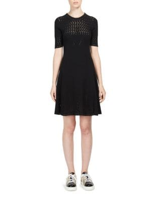 Buy KENZO Pointelle Knit Fit-&-Flare Dress online with Australia wide shipping