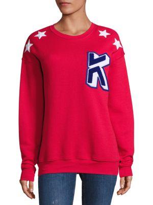 K Star Applique Sweatshirt by Koza