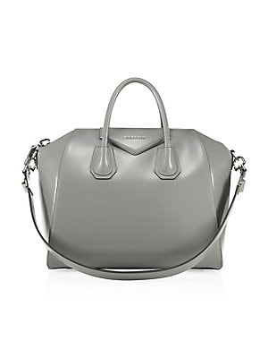 Givenchy - Antigona Medium Leather Satchel - saks.com 7d15cb83b5