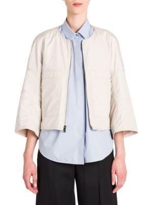 Lamb Leather Jacket by Jil Sander