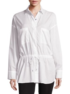 Lawn Cotton Top by Helmut Lang