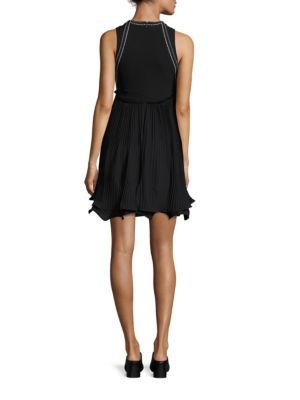 3.1 PHILLIP LIM Silks Tiered Pleated Dress