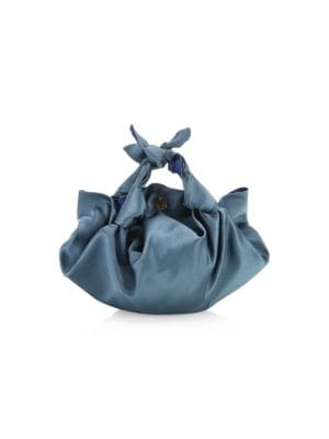 Small Ascot Satin Hobo Bag in New Light