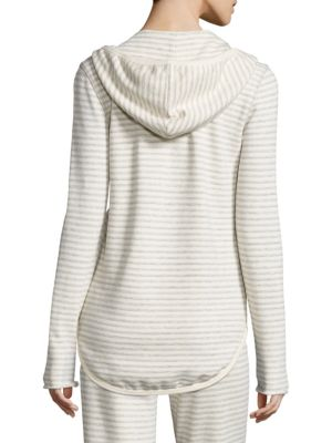 ATM ANTHONY THOMAS MELILLO Cottons Striped Terry Hoodie
