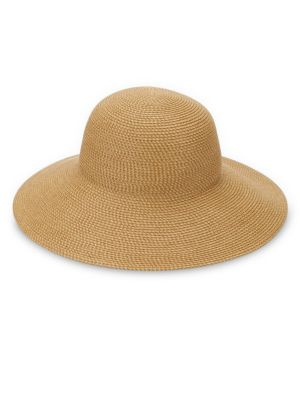 Hampton Squishee Packable Sun Hat, Natural