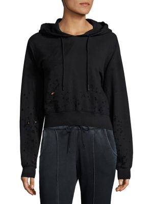 The Milan Cropped Hoodie by Cotton Citizen