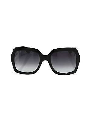 a712874ee41 Gucci - 54MM Oversized Square Sunglasses