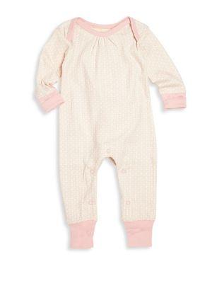 Babys Printed Organic Cotton Footsie