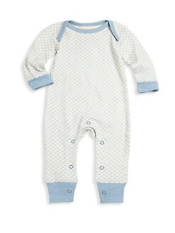 778095476 QUICK VIEW. Sapling. Baby Boy's Organic Cotton Coverall