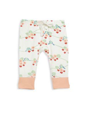 Babys Printed Organic Cotton Pants