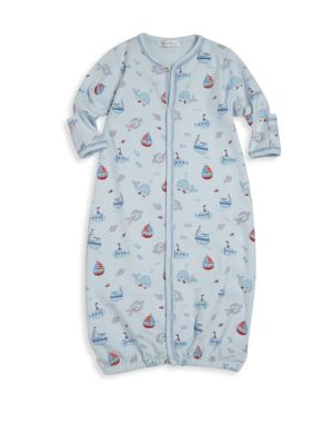 Babys Ahoy There Pima Cotton Converter Gown