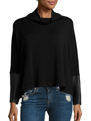 Clara Oversized Funnel Neck Top by Generation Love