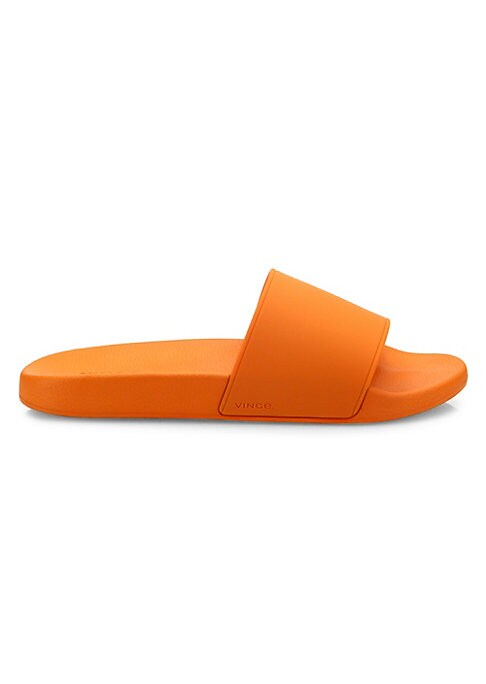 Image of Light and comfortable pair in molded TPU rubber. Rubber upper. Slip-on style. Padded insole. Rubber sole. Imported.
