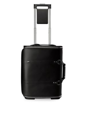 VOCIER F38 Leather Carry-On in Black