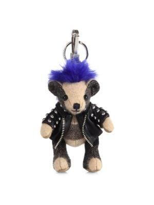Image of Thomas Punk Cashmere Bear Key Charm